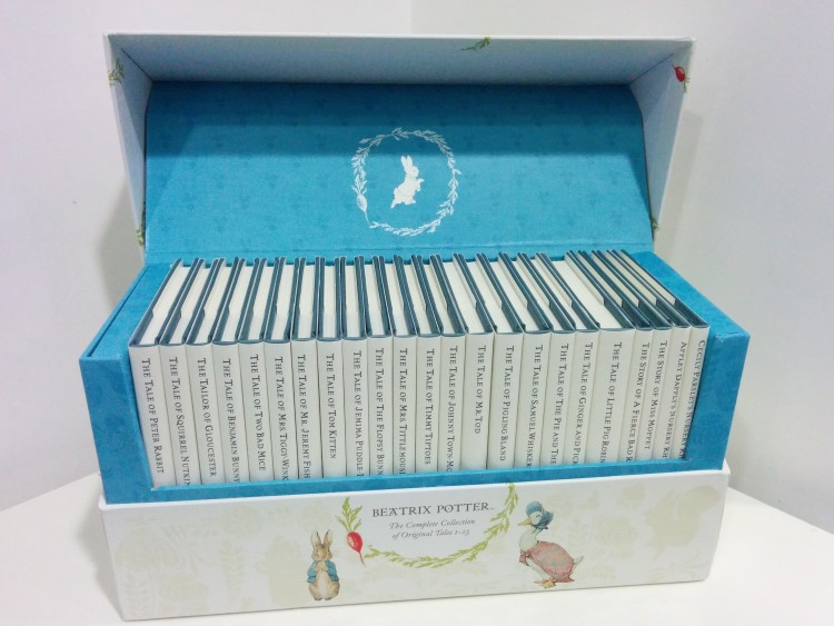 Giveaway: Win a Beatrix Potter book set with Cottages.com