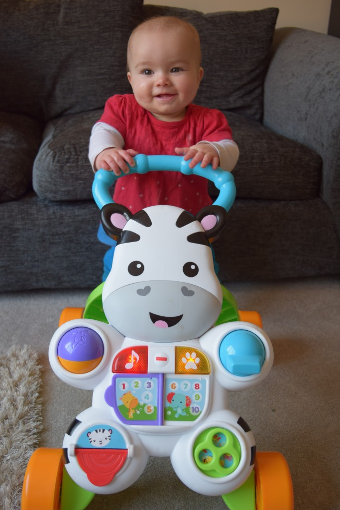Review: Fisher Price Learn with Me Zebra Walker