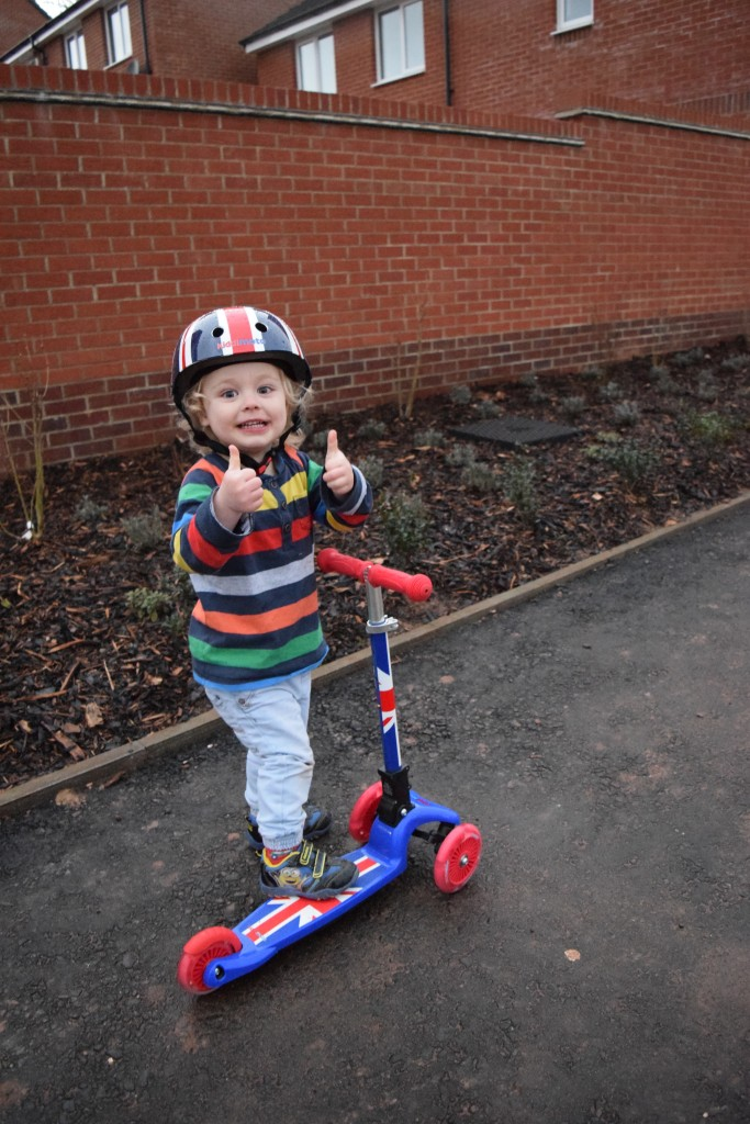 Kiddimoto U-Zoom scooter