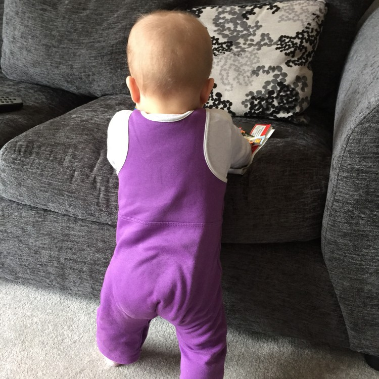 standing up, 9 months
