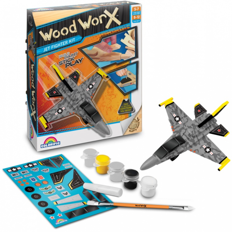 Woodworx Jet Fighter