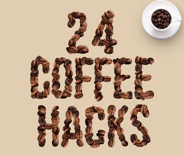 24 coffee hacks