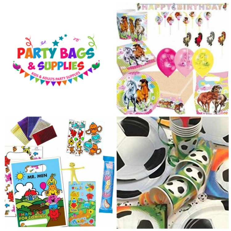 Giveaway: Win £30 to spend at Party Bags & Supplies