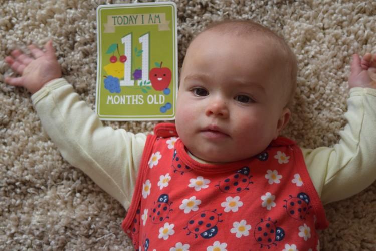 Eliza: 11 months old