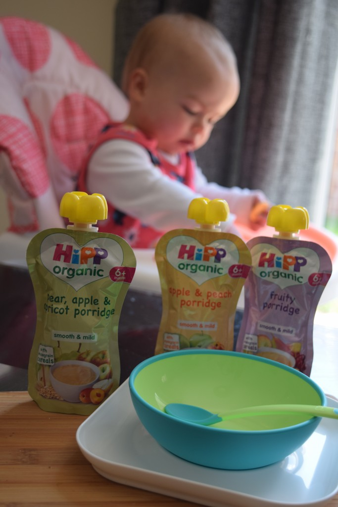 Review: HiPP Organic porridge pouches and cereals & win a HiPP hamper