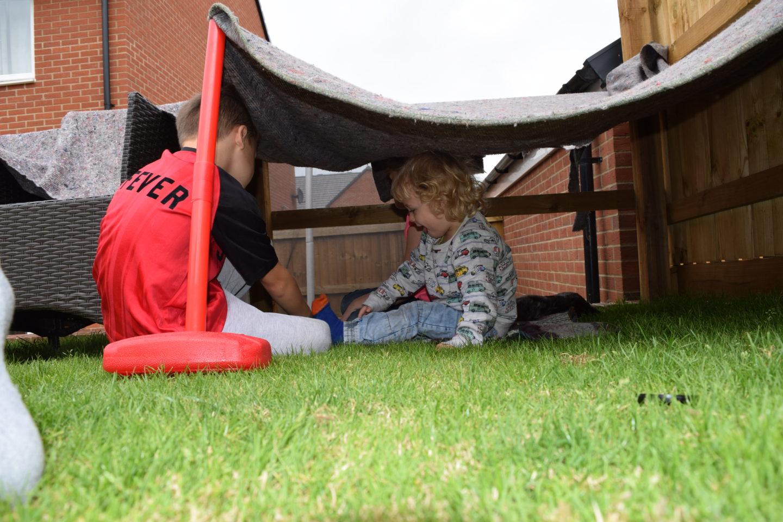 Building a garden hideout