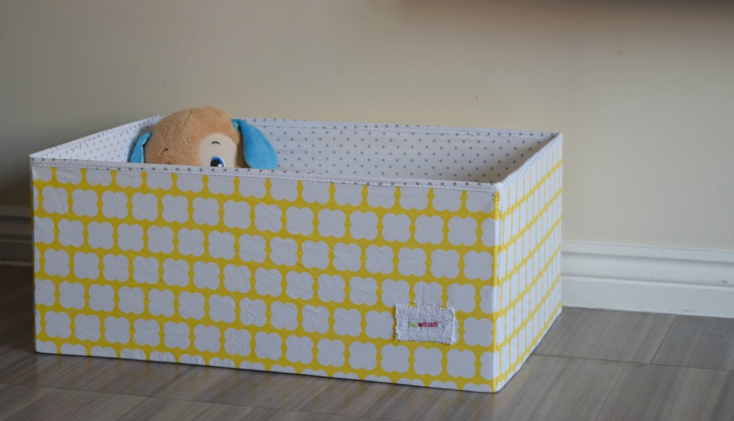 Review: Minene fabric storage box with lid