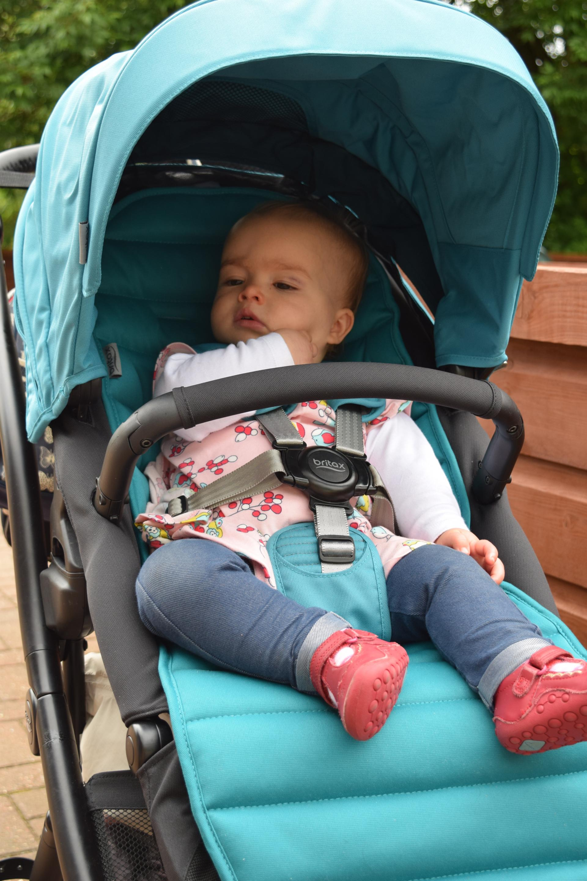 Review Britax Affinity 2 Family Fever