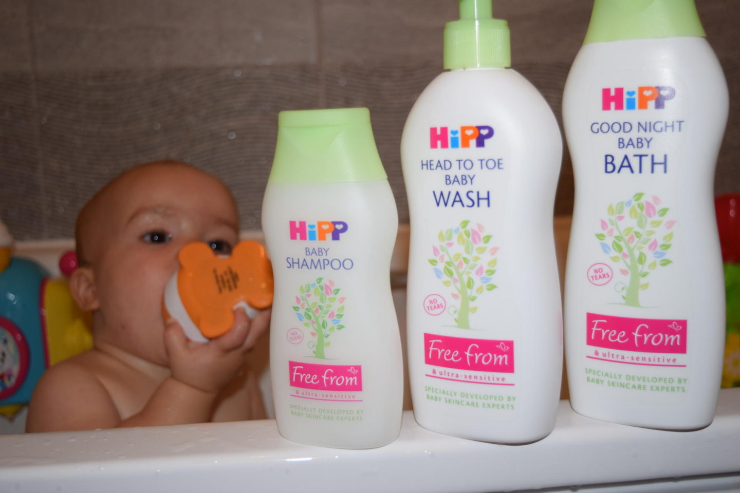 Review & giveaway| HiPP Free From baby care range