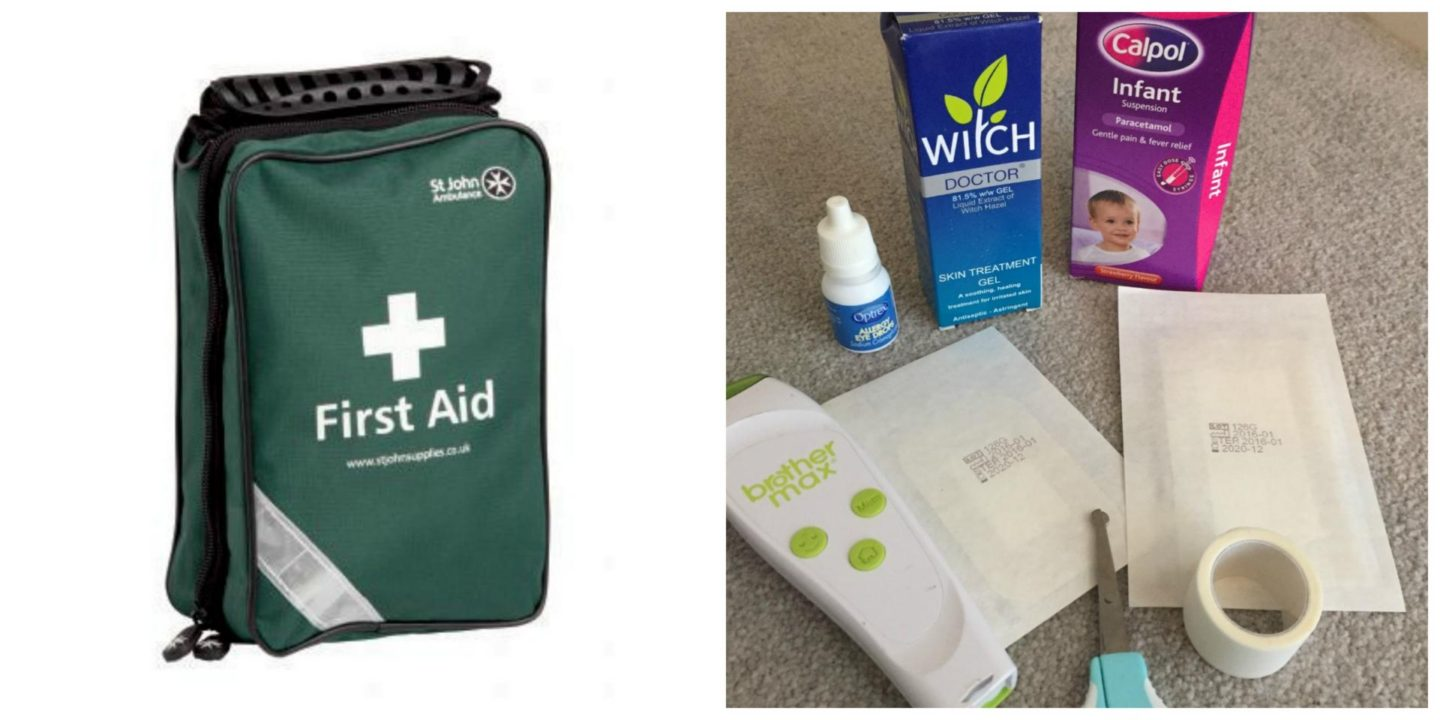 Family First Aid Challenge | Win a St Johns Ambulance First Aid kit