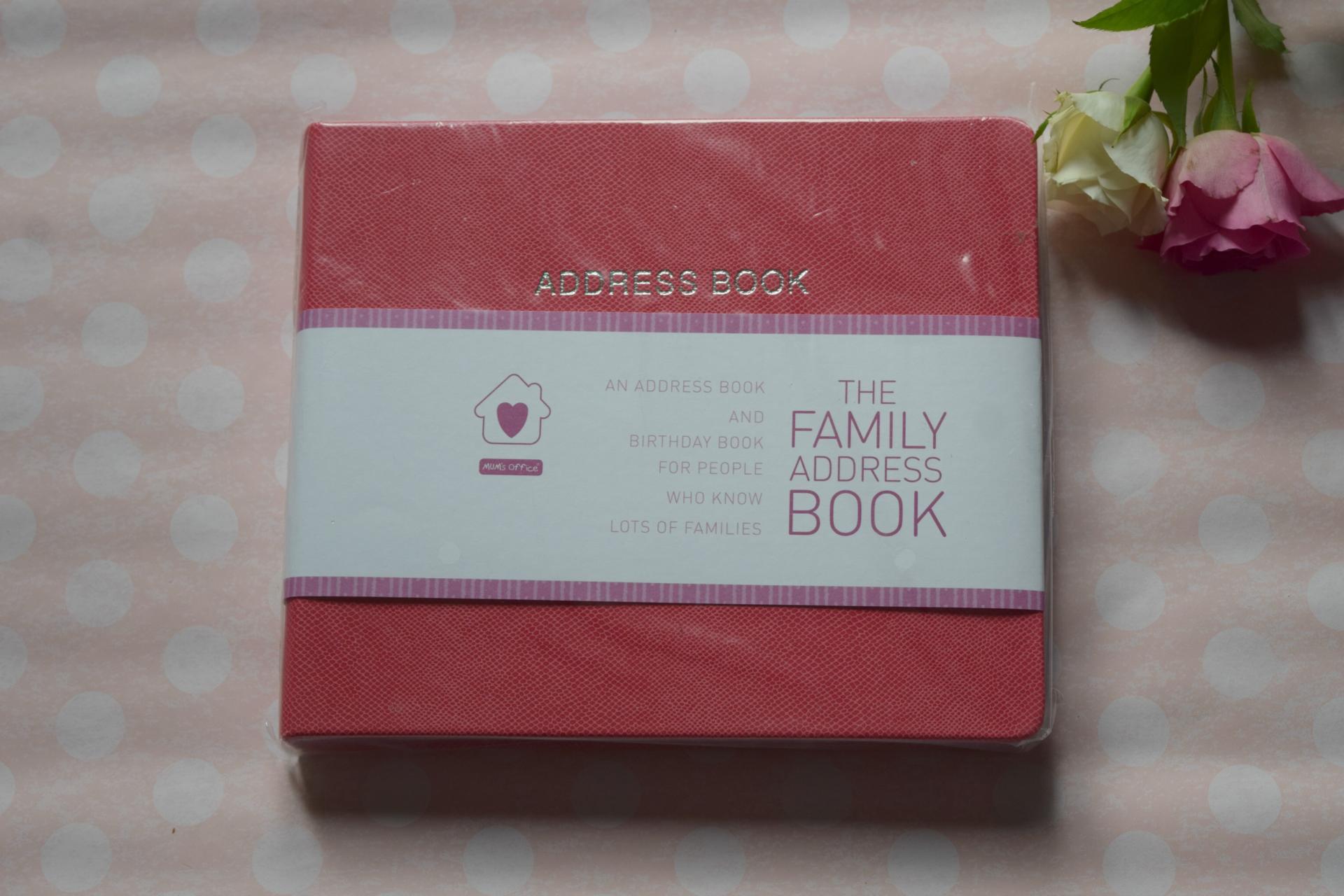 Mum's Office address book
