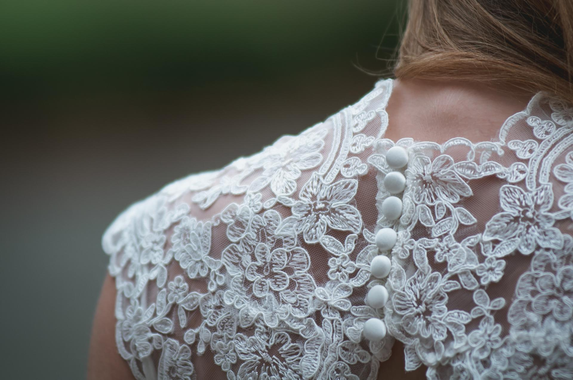Lace Applique Edge wedding veil