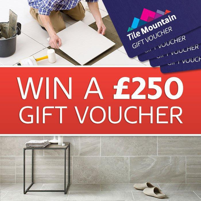 Giveaway | Win £250 to spend at Tile Mountain