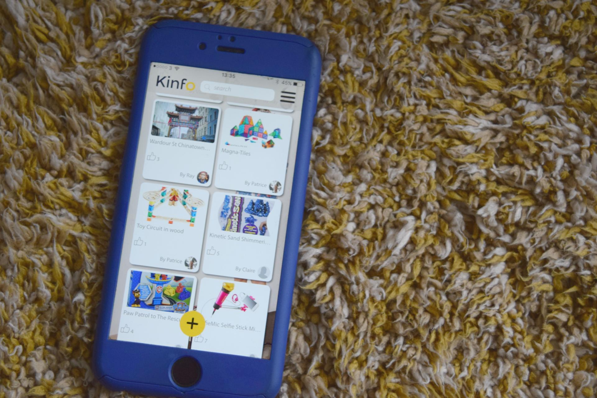 Kinfo app