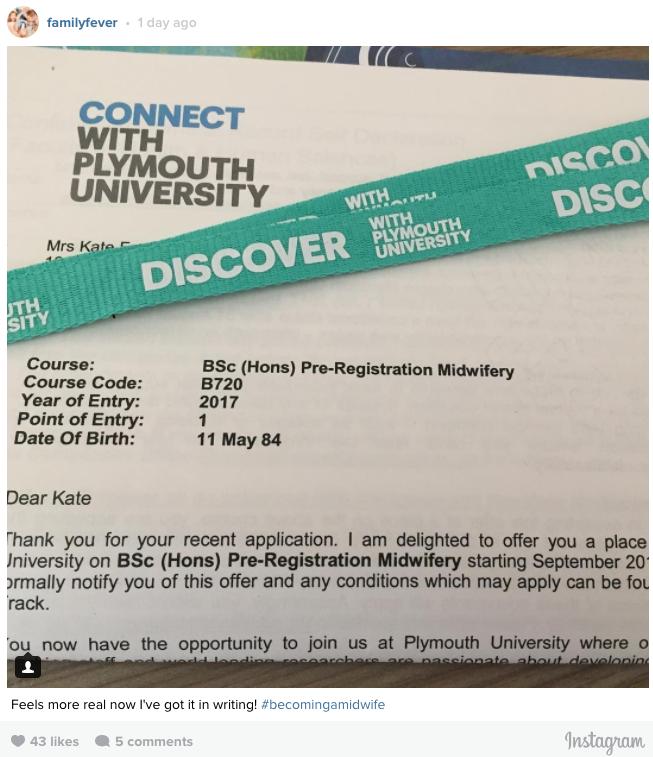 university offer