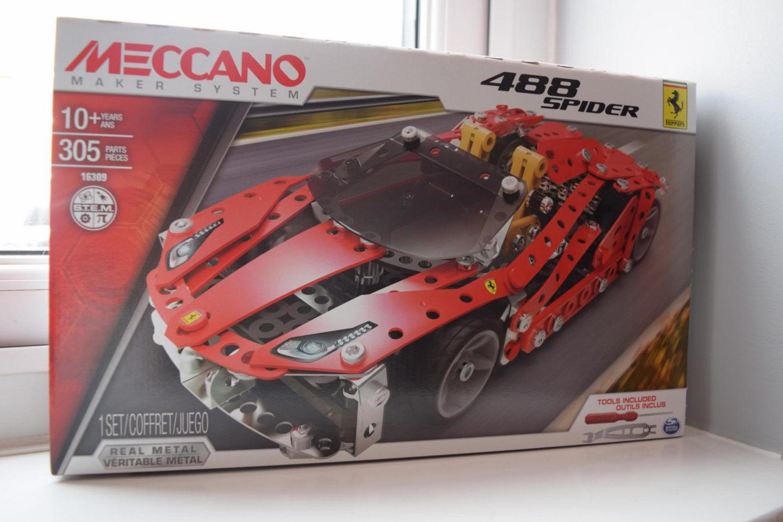 Review | Meccano Ferrari 488 Spider