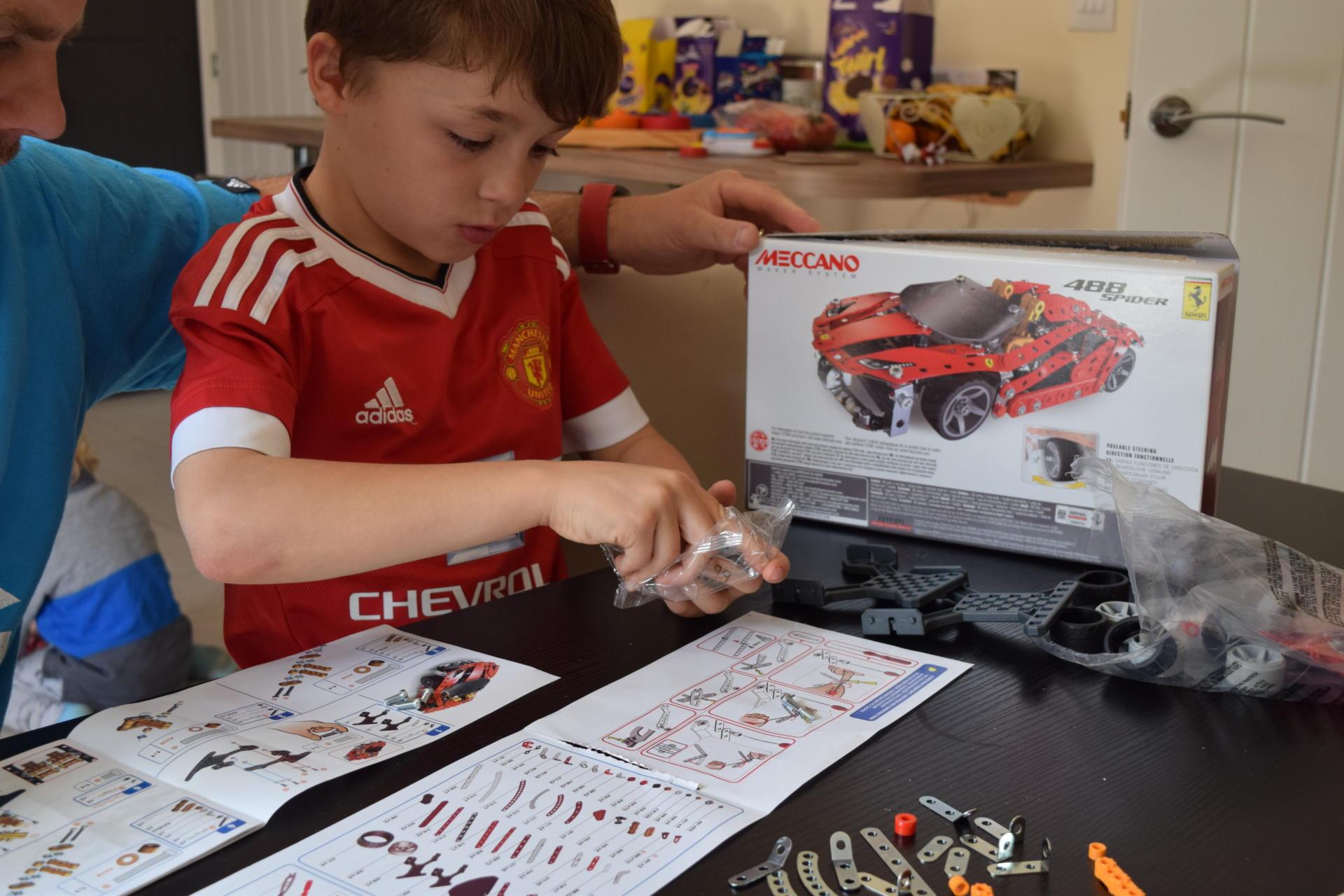 Meccano Ferrari 488 Spider