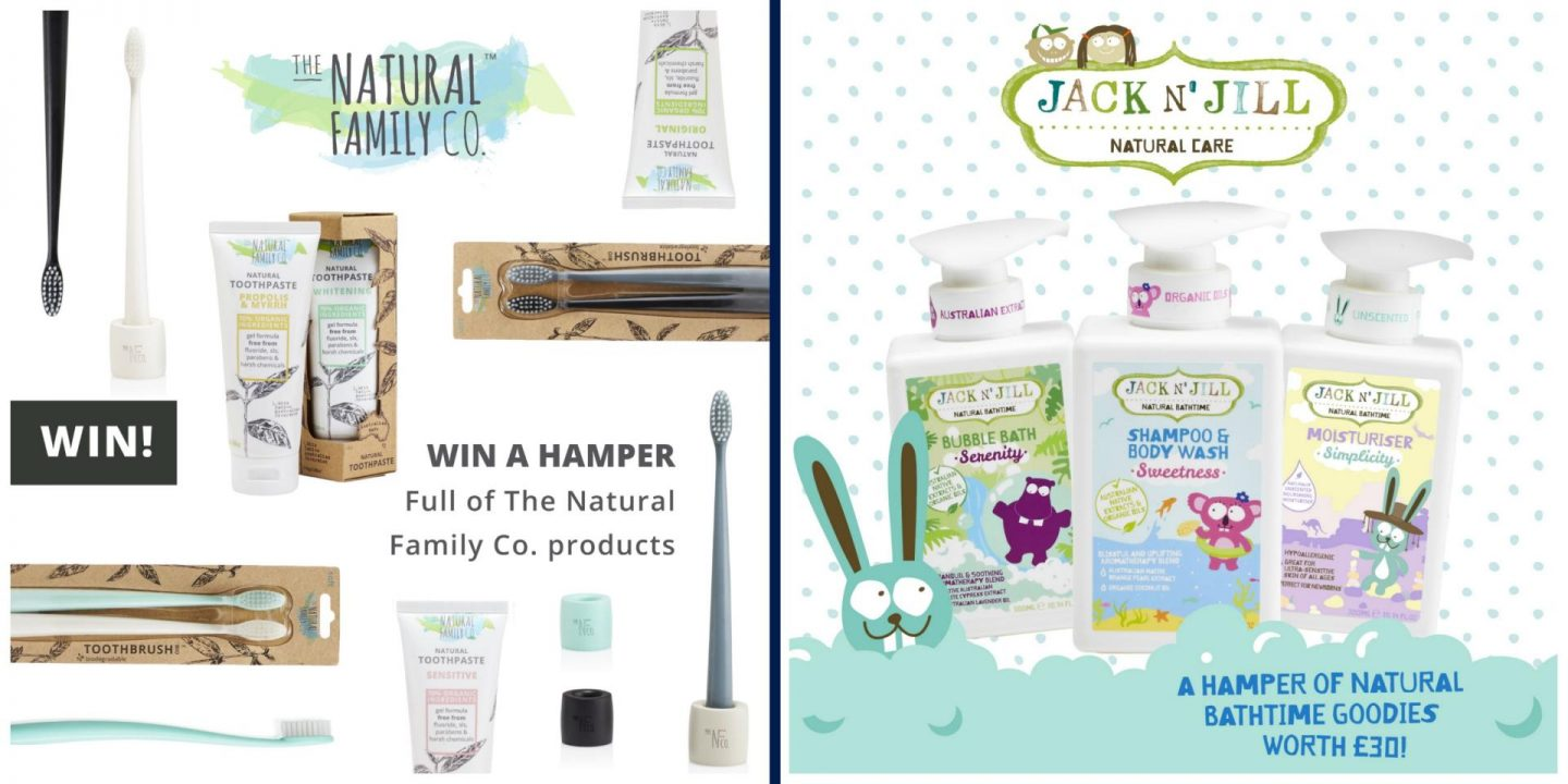 Review & giveaway | The Natural Family Co