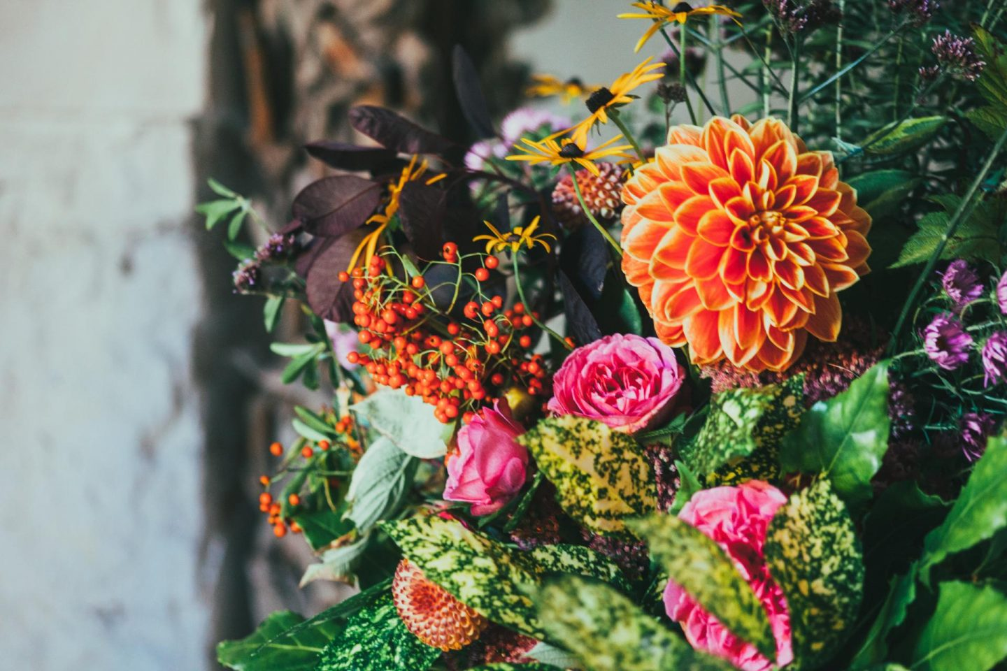 Choosing blooms with birth flowers