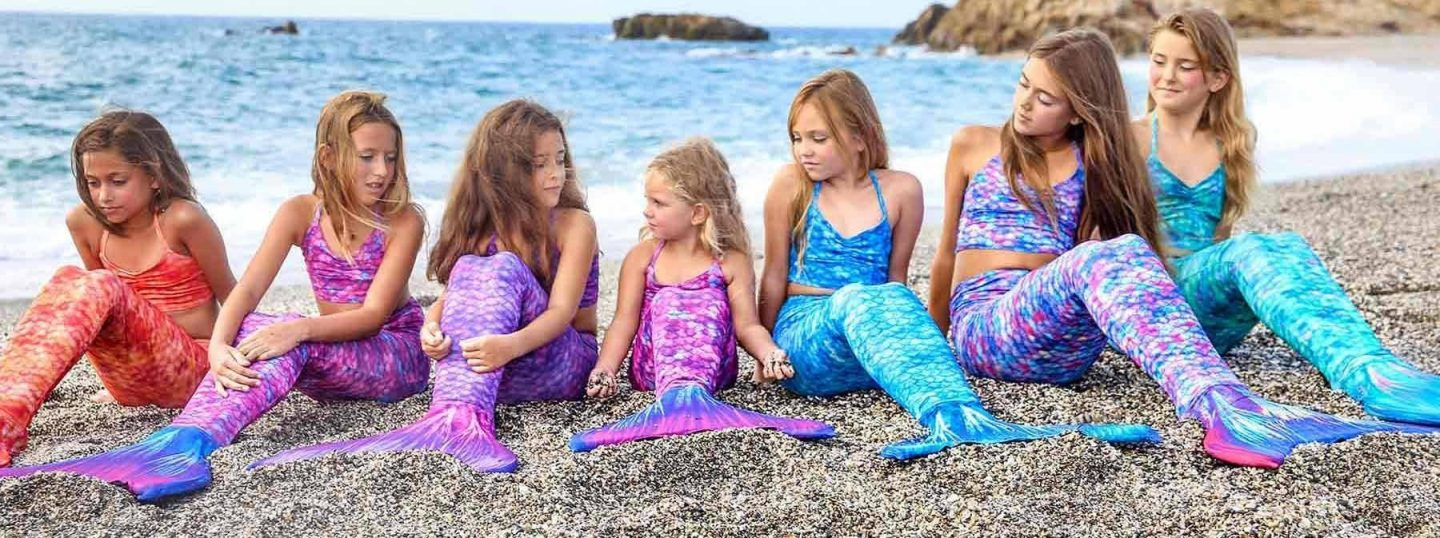 Giveaway | Win a mermaid tail, tankini top and monofin