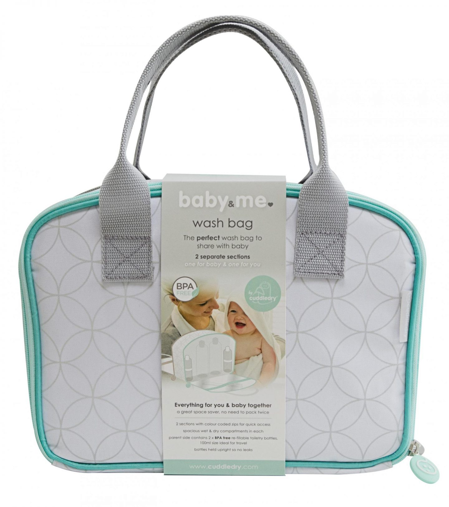 Giveaway | Win a Cuddledry Baby&Me washbag