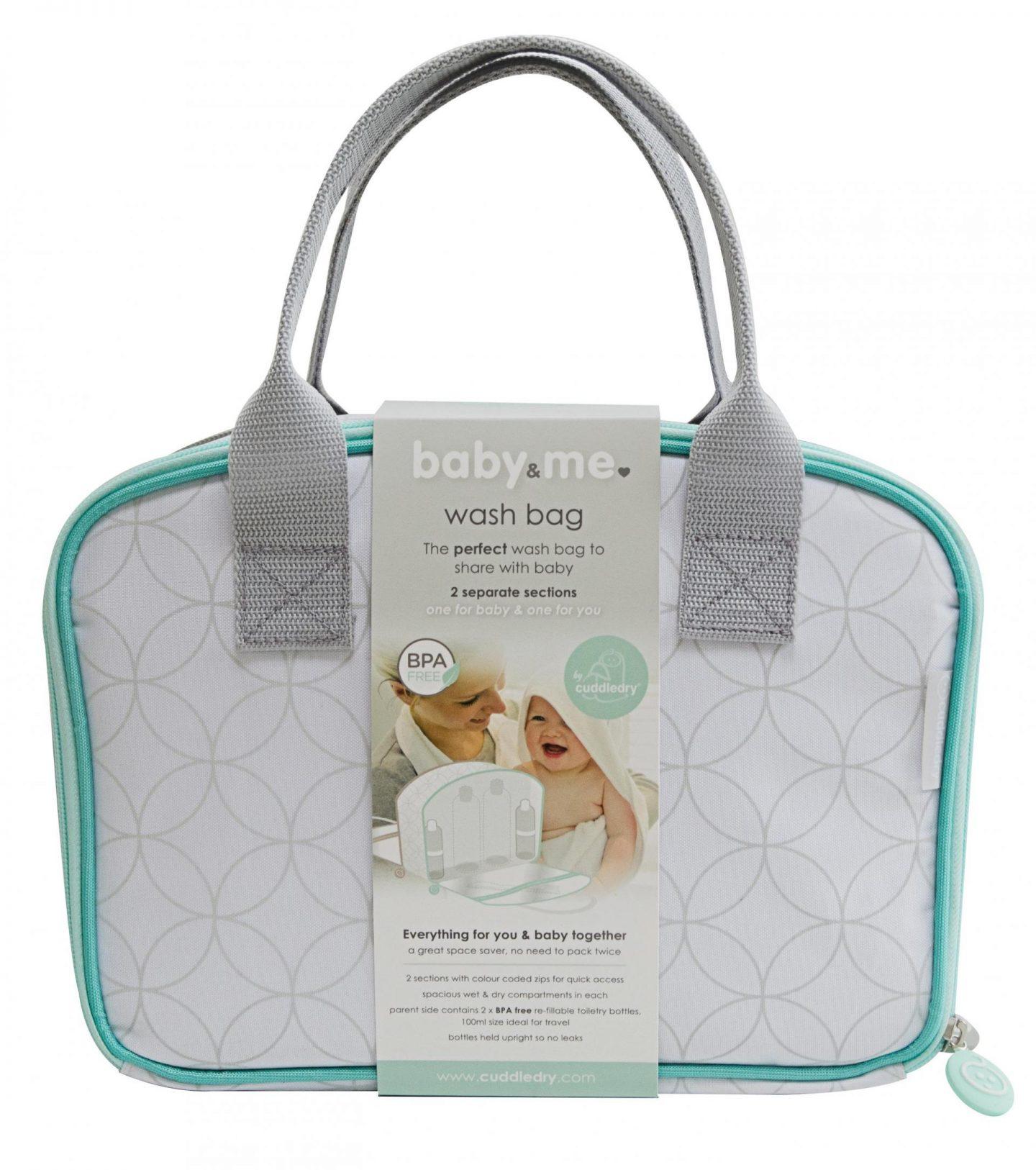 Giveaway | Win a Cuddledry Baby&Me washbag