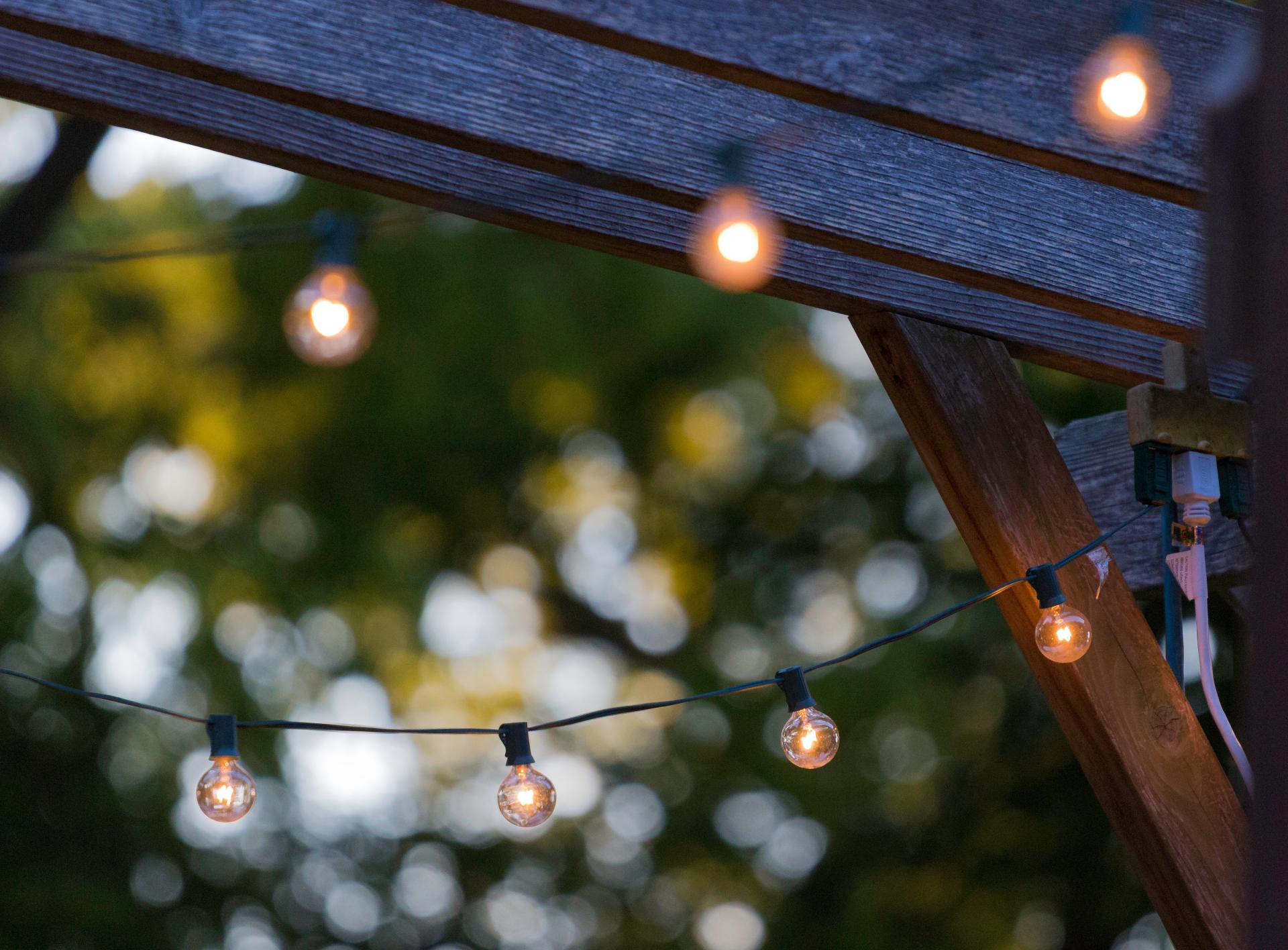 Finishing off your decking with stylish and practical lighting