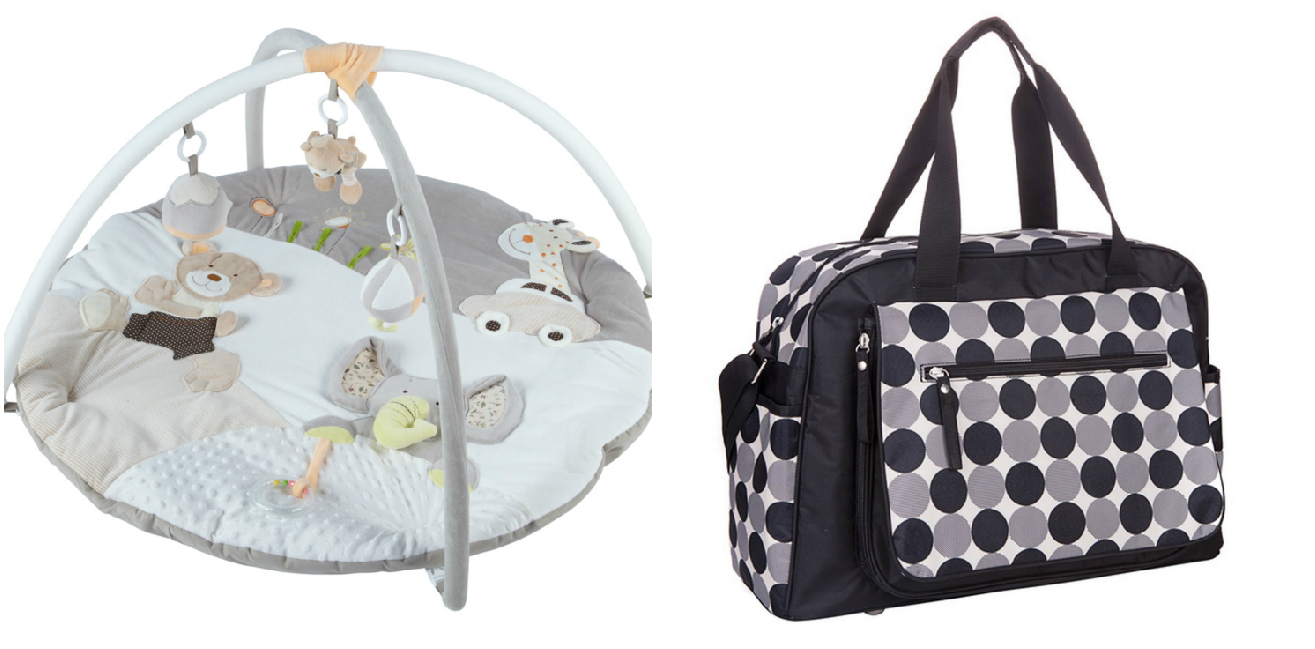 Giveaway | Win a Small Smart baby gym and changing bag
