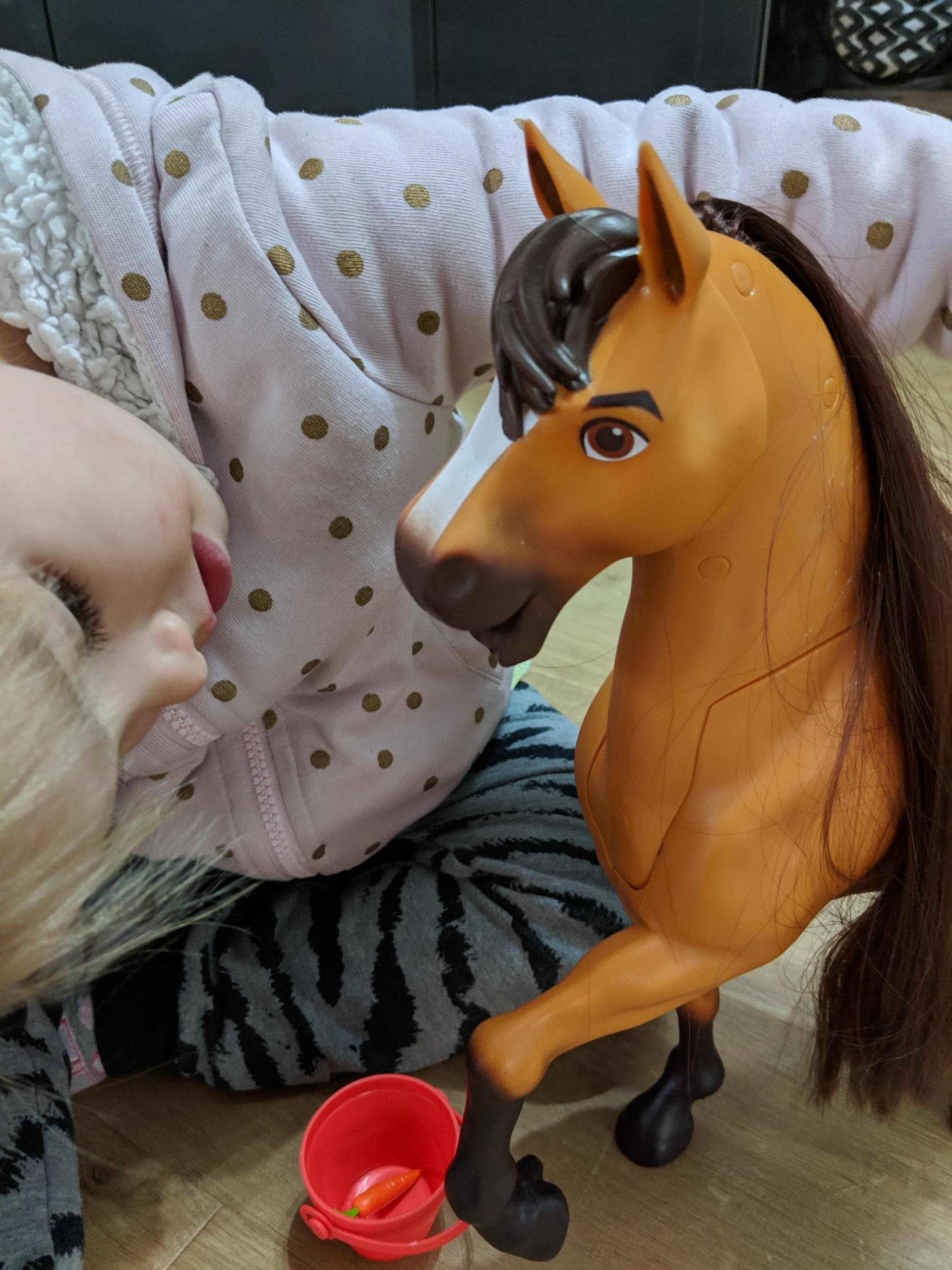 review  giveaway  spirit riding free  spirit  lucky