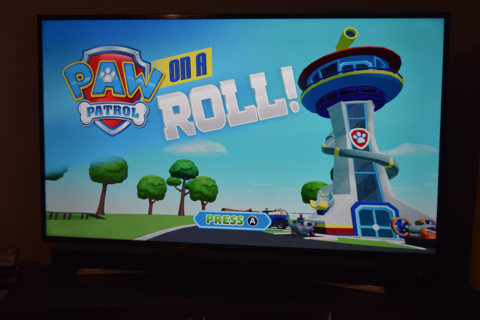 Paw Patrol on a Roll game