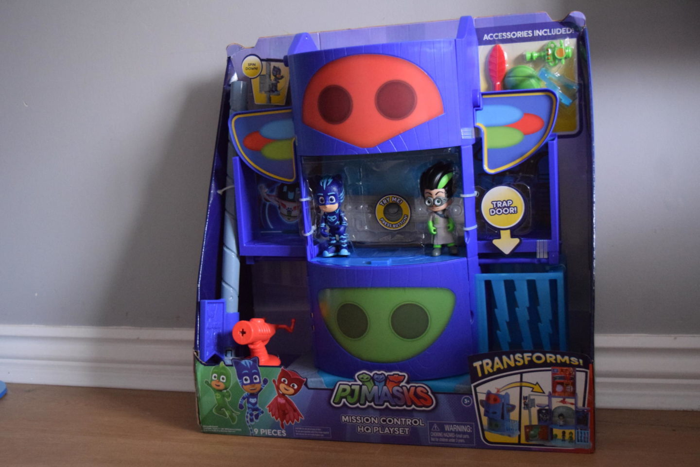 Review | PJ Masks Mission Control HQ play set